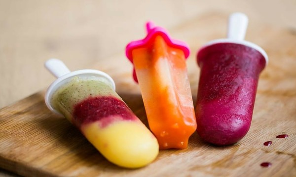 healthy ice lollies