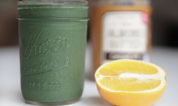 Green power brain smoothie