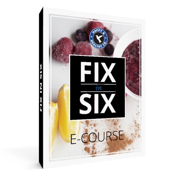FIX IN SIX E-course