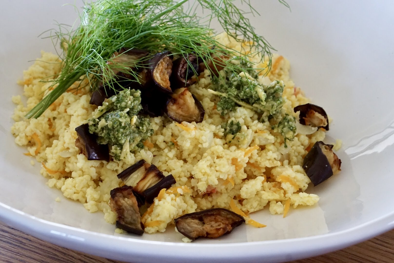 Millet risotto