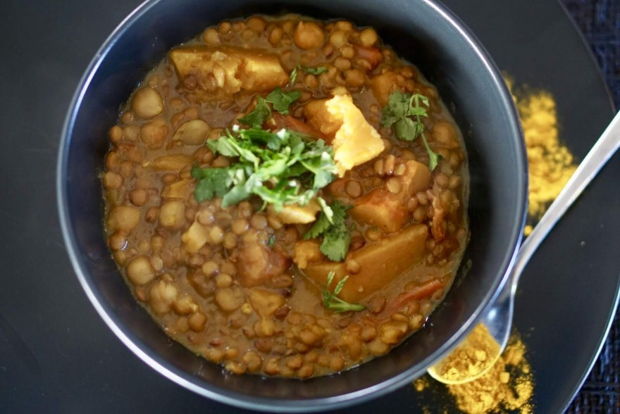 Butternut & Lentil Curry