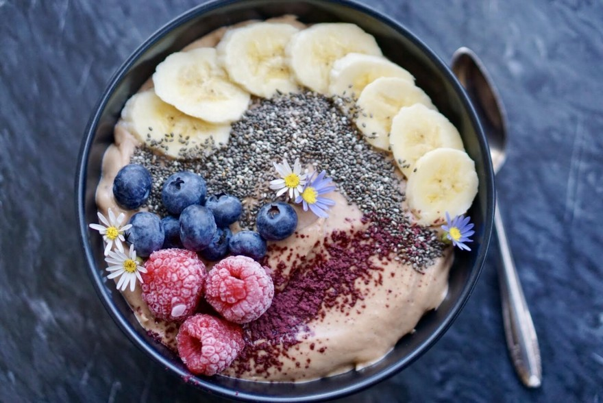 Surprise Acai Smoothie Bowl
